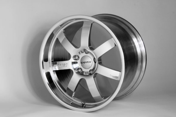 SPR 12×20 Aluminium poliert