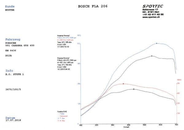 991 Carrera GTS DCJA 450 E.O. Stufe 1-1