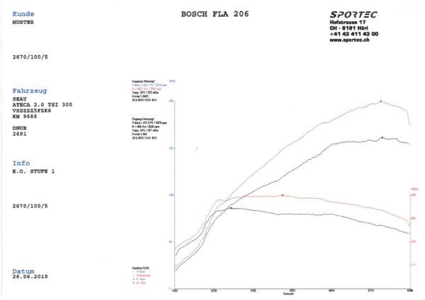 Cupra Ateca 2,0 TSI DNUE 300 E.O. Stufe 1-1
